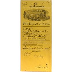 Taylorsville Wells Fargo Collection envelope