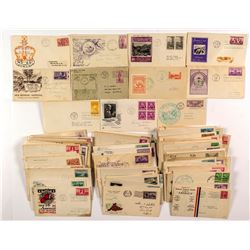First Day Covers: 1930's and 1940's