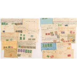 Official Stamped Documents: Nice set of New York Stock Transfer Stamps