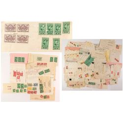 Official Stamped Documents: Stock Transfer Stamps
