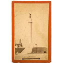 New Orleans General Lee Monument Cabinet Card