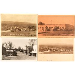 Adin, CA Group: 2  Real Photo Postcards, Eastman RPC, and Advertising Card
