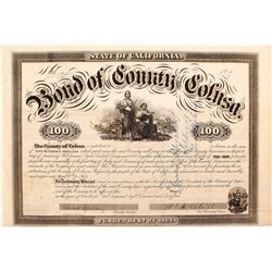 1864 Bond of Colusa County