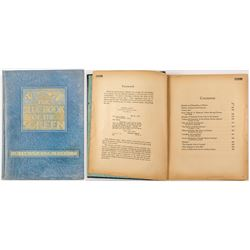 "Rare ""The Blue Book of the Screen"" 1923"