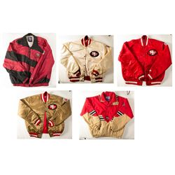 6 Different SF 49'ers Jackets