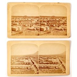 Two Early Colorado Springs Stereoviews
