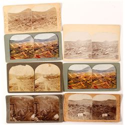 Six Cripple Creek, Colorado Stereoviews (incl. Mining)