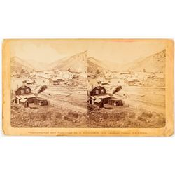 Early Idaho Springs, Colorado Stereoview c.1880s