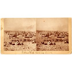 Silver Cliff, Colorado Stereoview