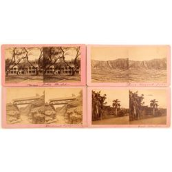 Four Stereoviews of Hawaiian Territorial Scenes