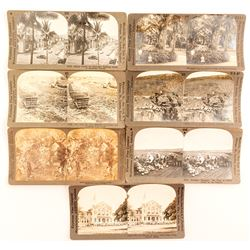 Seven Fields and Honolulu Stereoviews