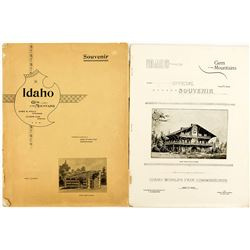 Idaho Gem of the Mountains Booklet (Idaho World's Fair Commission)
