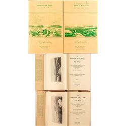 2 Volumes, A History of the Fur Trade of the Far West