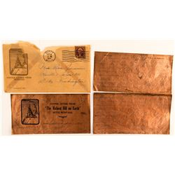 Copper Letter and Envelope from 1937