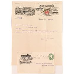 Mitchell & Lewis Wagon Co. Pictorial Letterhead & Cover