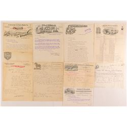 Pictorial Letterheads to Montana Merchants