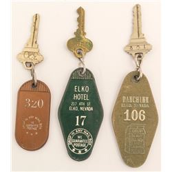3 Different Elko, NV Key Fobs