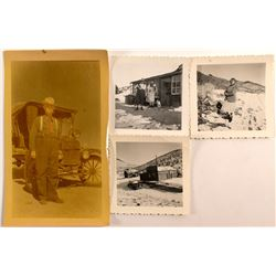 Four 1910's Fairview, Nevada Photos