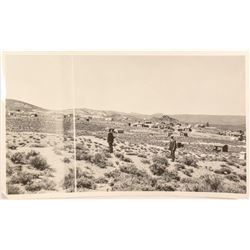 Gilbert, Nevada Town Overview Photograph