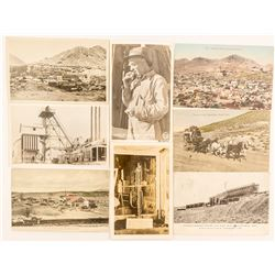 Eight Goldfield / Tonopah Postcards