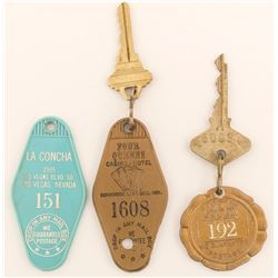 3 Different Las Vegas Key Fobs