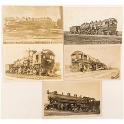 Five Mallet Compound Real Photo Postcards in Sparks, Nevada