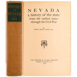 Nevada: A History of the State From the Earliest Times Through the Civil War