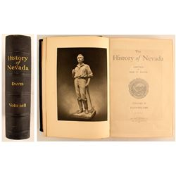 Davis: A HISTORY OF NEVADA (Volume II only)