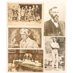 Famous Nevada People on Postcards