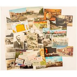 Small Town Nevada Postcards