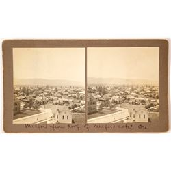 City View Stereoview of Medford, Oregon