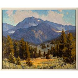 Afternoon in Hope Valley (Oil Painting)