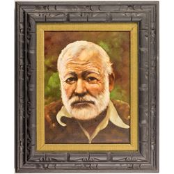 M. F. Heimbach: Remake of Hemingway Oil Painting