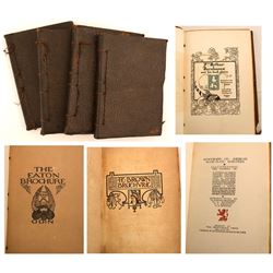 Four Volumes on Bookplates, 1905