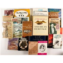 Collection of  Western Historical Books and Publications