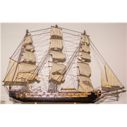 Spanish Frigate Wooden Model
