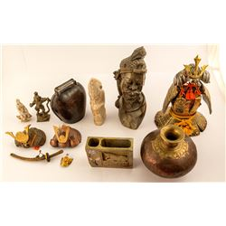 8 Asian Assorted Collectibles