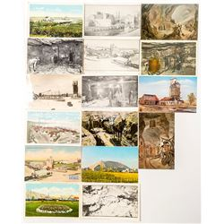Oklahoma Mining Postcards with RPC's