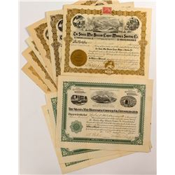 Shasta May Blossom Copper Co., Consolidated Stock Certificates (9)