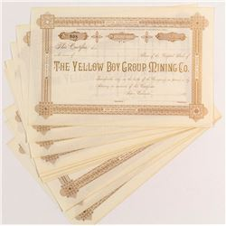 Yellow Boy Group Mining Stock Certificates (11)