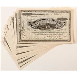 Idaho Mining Stock Certificates (15)