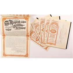 Maryland Smokeless Coal Company Gold Bonds (6)