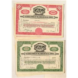 Twenty Calumet & Hecla, Inc. Stock Certificates