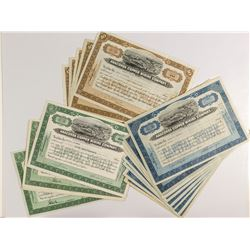 Anaconda Copper Mining Large Vignette Stock Certificates (29)