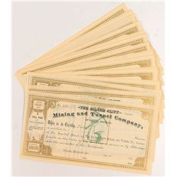 Silver Cliff Mining and Tunnel Stock Certificates (36)