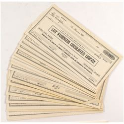 Lady Washington Consolidated Stock Certificates (46)