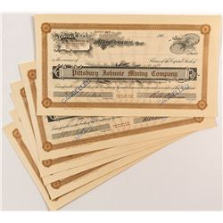 Pittsburgh Johnnie Mining Company Stock Certificates (7)