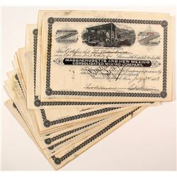 Massachusetts and New Mexico Consolidated Mining Company Stock Certificates (24)
