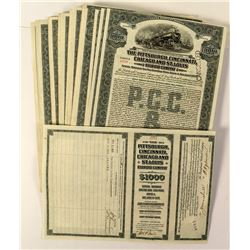 76 Pittsburgh, Cincinnati, Chicago and St. Louis Railroad Company Bonds