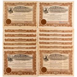 Boundary Red Mountain Mining Company Stock Certificates (14)
